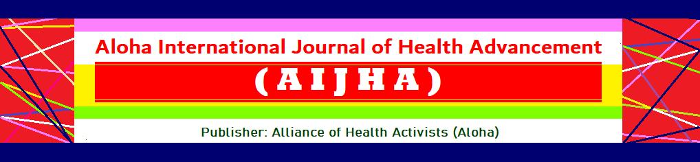 AloHA International Journal of Health Advancement (AIJHA)